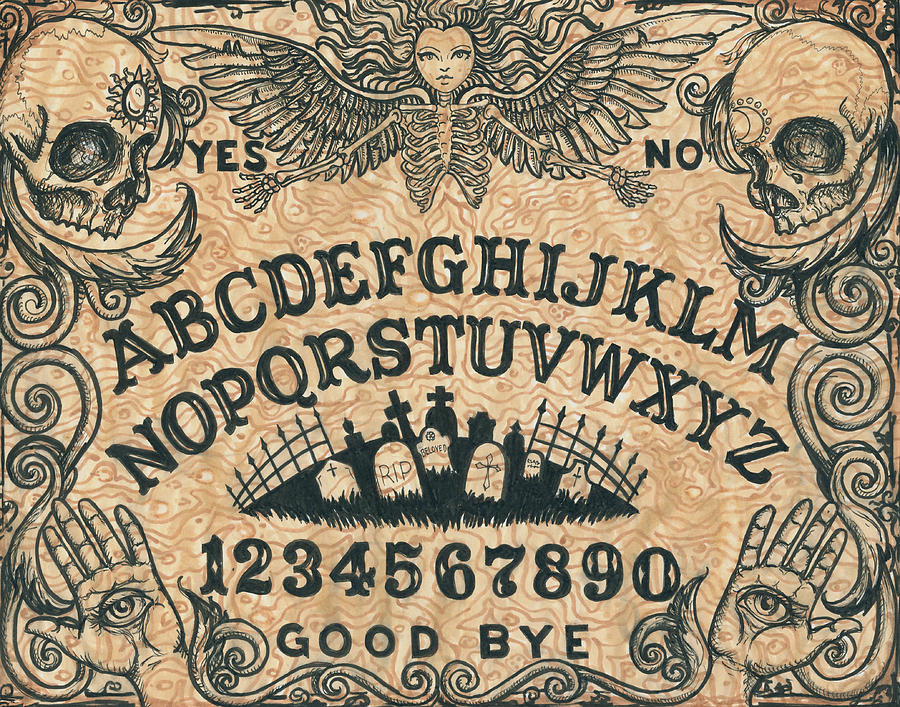 Ouija Board Coffee Table For Sale