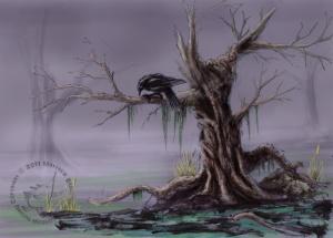 Marshtree-creepy-raven